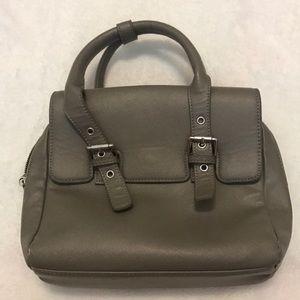 Zara Basic Collection Gray Purse Bag
